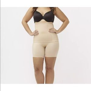 Shapewear cacique lane Bryant brown waist cincher